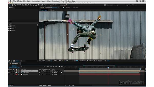 Evaluate before beginning roto: After Effects Compositing 05: Rotoscoping & Edges