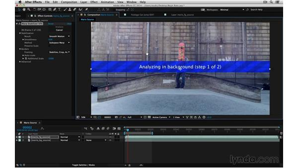 Lock-off for VFX: After Effects Compositing 05: Rotoscoping & Edges