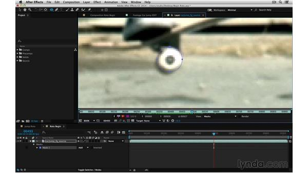 Start with a shape: After Effects Compositing 05: Rotoscoping & Edges