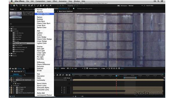 Replace missing or mismatched background: After Effects Compositing 05: Rotoscoping & Edges