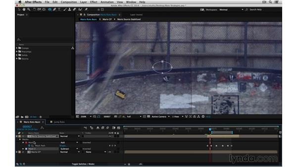 Decide what needs attention: After Effects Compositing 05: Rotoscoping & Edges
