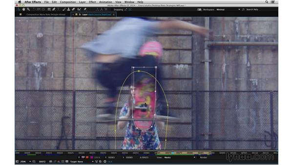 Rotoscope straight-ahead: After Effects Compositing 05: Rotoscoping & Edges