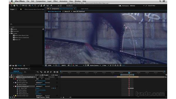 Refine mask feather: After Effects Compositing 05: Rotoscoping & Edges