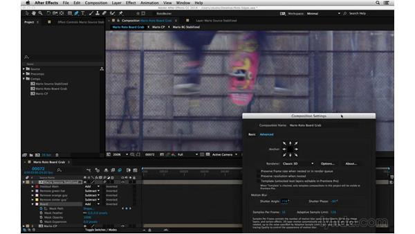 Get motion blur for free: After Effects Compositing 05: Rotoscoping & Edges