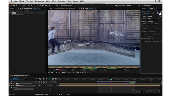 Brush tools come last: After Effects Compositing 05: Rotoscoping & Edges