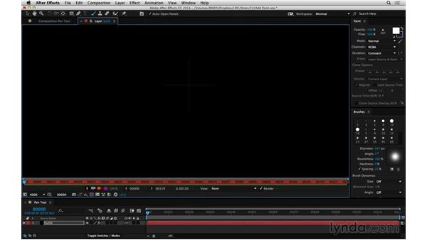 Input devices for paint and roto: After Effects Compositing 05: Rotoscoping & Edges