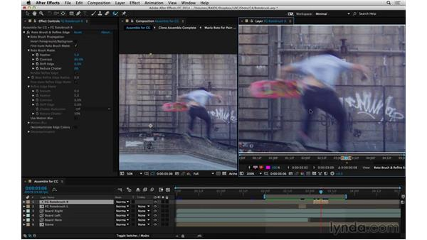 Make quick use of Roto Brush: After Effects Compositing 05: Rotoscoping & Edges