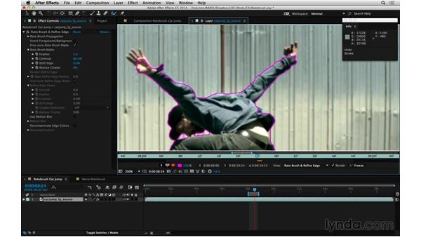Don't get bogged down with Roto Brush: After Effects Compositing 05: Rotoscoping & Edges