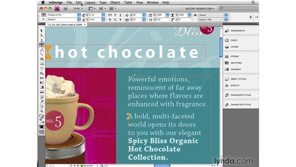 Using inline notes in InDesign: InCopy CS4 and InDesign CS4 Workflow Essential Training