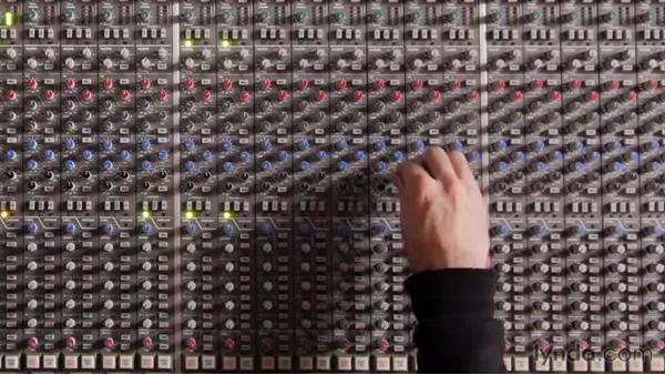 Utilizing the crush track printed during recording: Drum Mixing Techniques