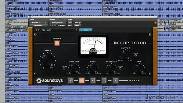 Distorting the trash mic: Drum Mixing Techniques