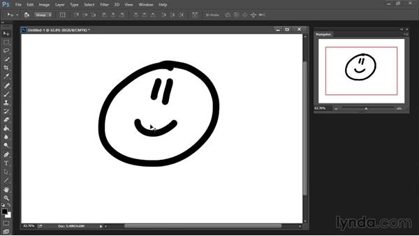Zoom and Hand tools: Drawing and Painting in Photoshop - The Great Training