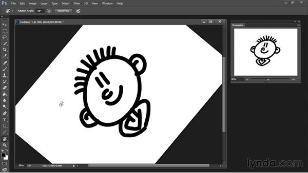 Rotate View tool: Drawing and Painting in Photoshop - The Great Training