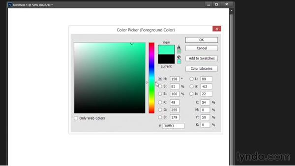 Color picker: Drawing and Painting in Photoshop - The Great Training