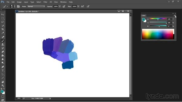 Color palette: Drawing and Painting in Photoshop - The Great Training