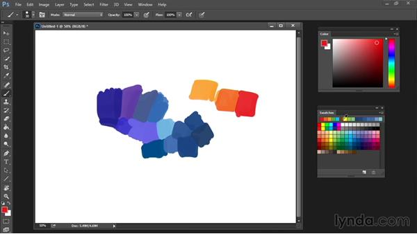Swatches palette: Drawing and Painting in Photoshop - The Great Training