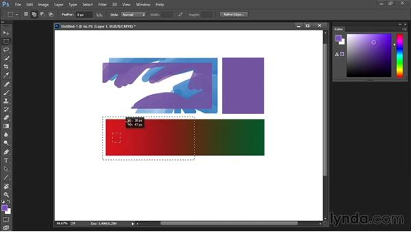 Marquee tool: Drawing and Painting in Photoshop - The Great Training