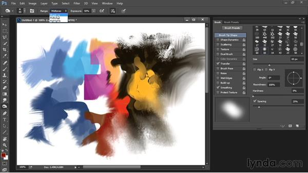 Dodge, Burn, and Sponge tools: Drawing and Painting in Photoshop - The Great Training