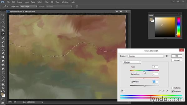 Hue/Saturation: Drawing and Painting in Photoshop - The Great Training