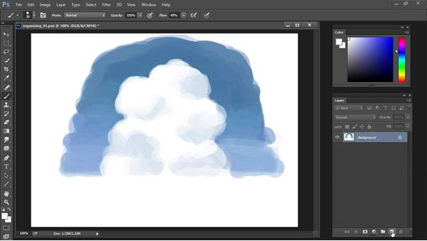 Painting on separate  layers: Drawing and Painting in Photoshop - The Great Training
