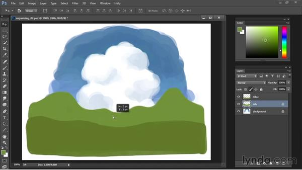Locking transparent pixels: Drawing and Painting in Photoshop - The Great Training