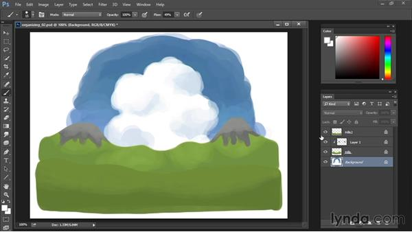 Eraser tool: Drawing and Painting in Photoshop - The Great Training