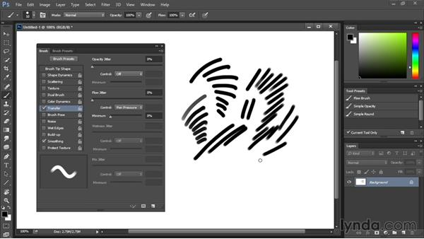 Setting up a new file and new brush: Drawing and Painting in Photoshop - The Great Training
