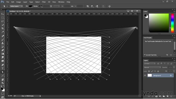Perspective Grid: Drawing and Painting in Photoshop - The Great Training