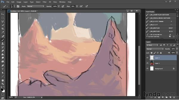 Rough sketch: Drawing and Painting in Photoshop - The Great Training