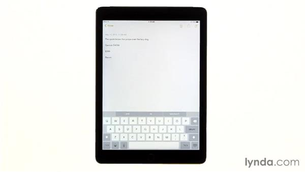 Typing tips: iPad Tips and Tricks