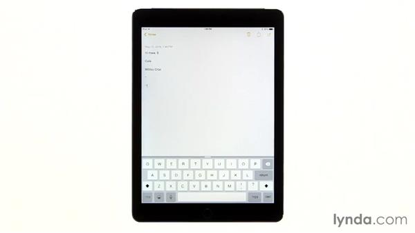 Accessing hidden shortcuts and expanding text: iPad Tips and Tricks