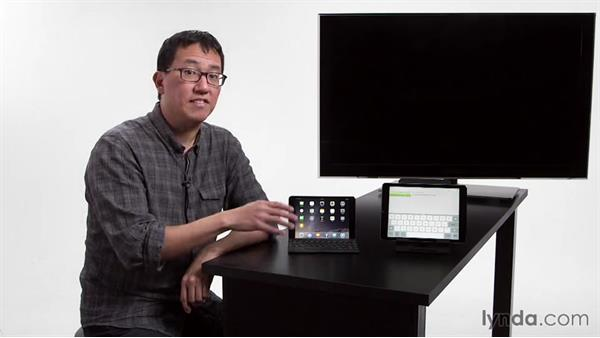 Using an external keyboard: iPad Tips and Tricks