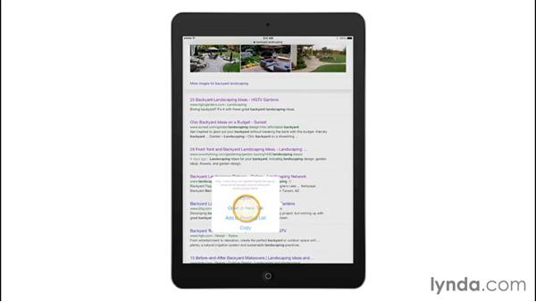 Working with tabs: iPad Tips and Tricks
