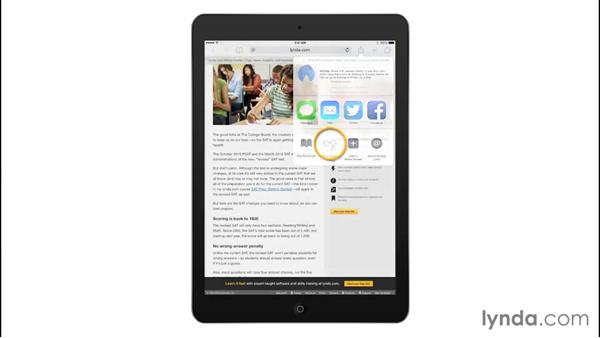 Using Reader mode, and saving pages to your reading list: iPad Tips and Tricks