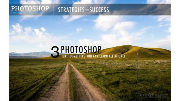 Getting the most out of this course: Photoshop CC 2015 for Photographers: Fundamentals