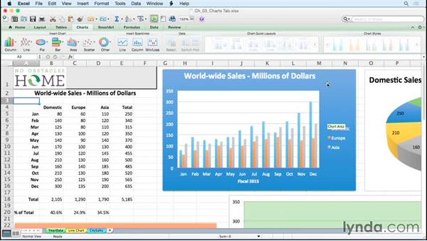 Saving a chart as a template for easy access later: Excel for Mac 2011: Charts in Depth