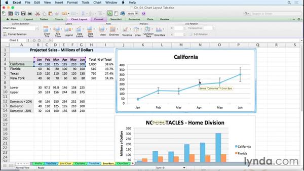 Adding error bars: Excel for Mac 2011: Charts in Depth