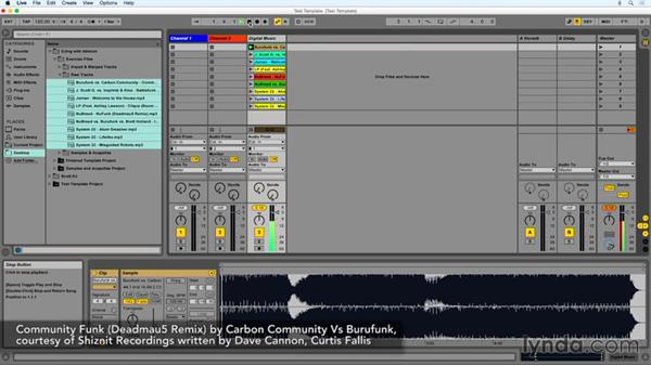 Getting your tracks imported: DJing with Ableton Live