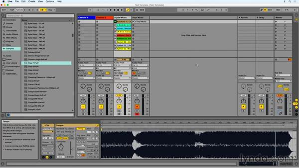 Warping your tracks: DJing with Ableton Live