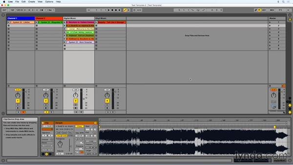 Using the crossfader: DJing with Ableton Live