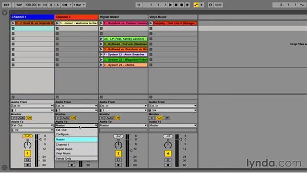 Using a DJ mixer as an alternative way to mix: DJing with Ableton Live