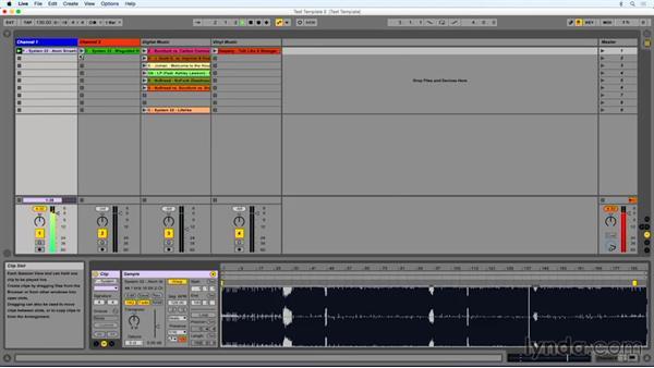 Harmonic mixing: DJing with Ableton Live