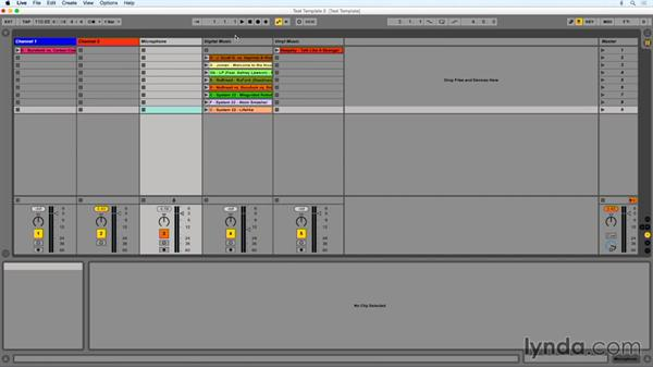 Incorporating a microphone: DJing with Ableton Live