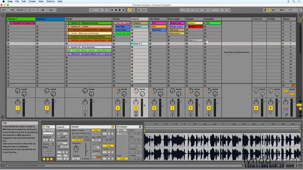 Incorporating samples and accapellas: DJing with Ableton Live
