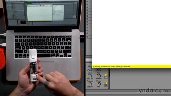 Wiimote and Joystick: DJing with Ableton Live