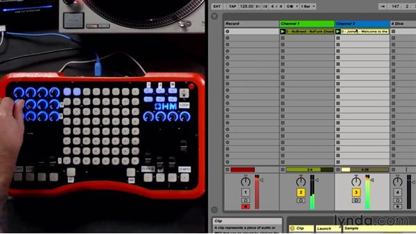 Recording your set: DJing with Ableton Live