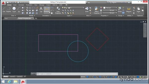 Setting up and choosing the appropriate AutoCAD template file: Up and Running with AutoCAD LT
