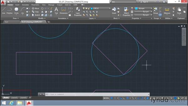 Drawing circles: Up and Running with AutoCAD LT