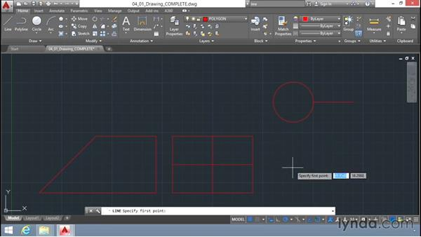 Object-snap setting and overrides: Up and Running with AutoCAD LT