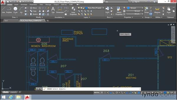 Selecting objects: Up and Running with AutoCAD LT